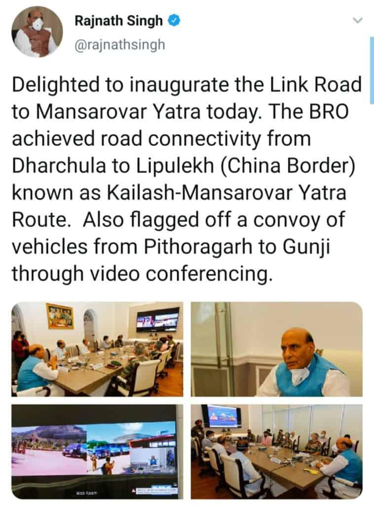 India Unilaterally Builds Road To China Through Nepali Land Lipulek