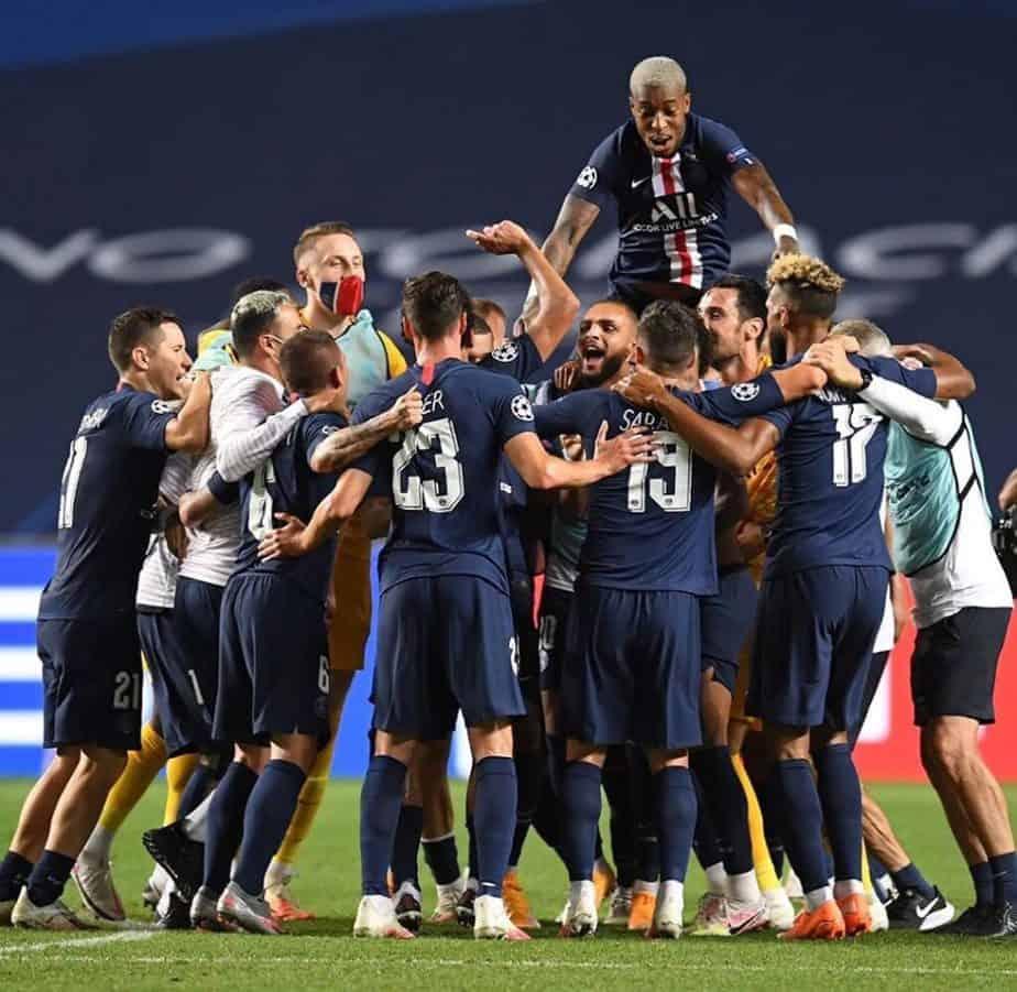 PSG Reach First Ever Champions League Final